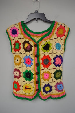 Crocheted Sweater Vest