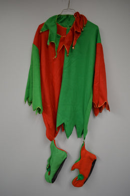 Holiday Awful Elf Shirt/Slippers/Collar