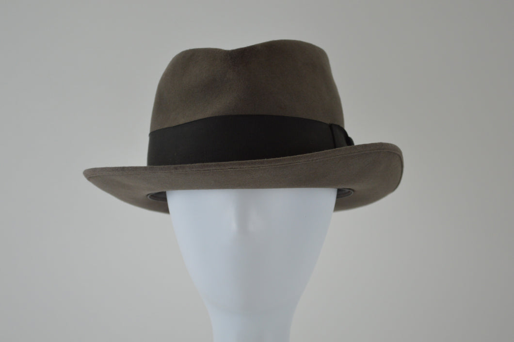 Fedora with Wide Ribbon