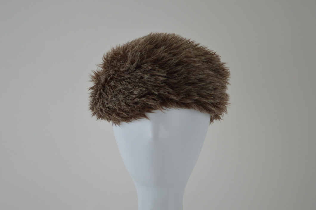 Faux Fur Cap with Tail