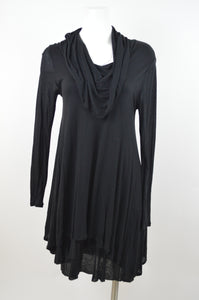 Cowl Neck Long Sleeve Dress