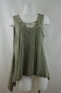 Asymmetrical Laced Tank