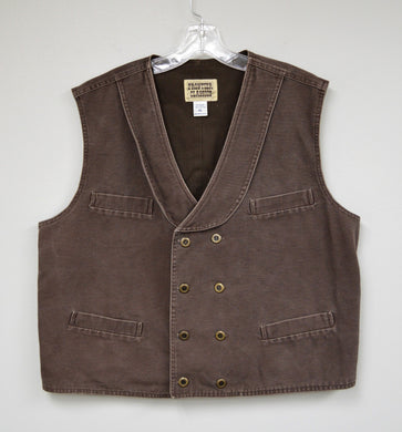 Double Breasted Western Vest