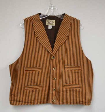 Striped 4 Pocket Vest