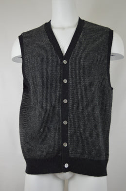Knit Six Button Vest