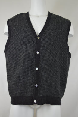 Knit Five Button Vest