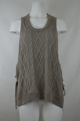 Side Tie Knit Vest