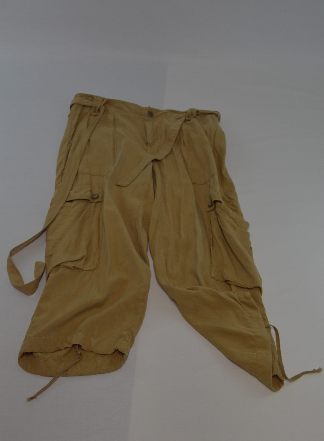 Drawstring Loose Cargo Pants