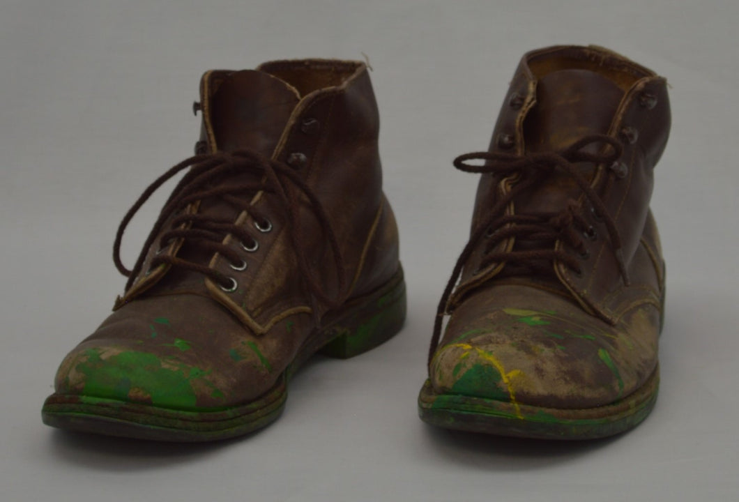 Distressed Work Boots