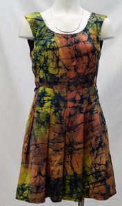 Splatter Print Dress