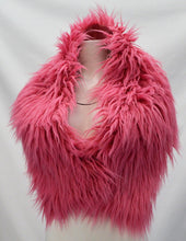 Load image into Gallery viewer, Reversible Faux Fur Shrug
