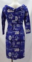 Load image into Gallery viewer, Novelty Blueprint Dress