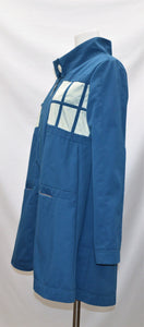 Police Callbox Coat with Decorative Lining