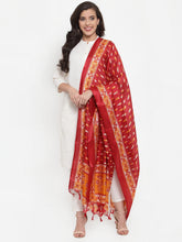 Load image into Gallery viewer, Jompers Women Off-White Solid Kurta with Trousers & Dupatta