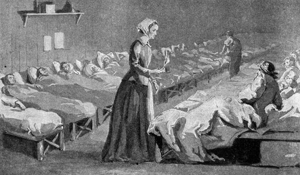 MARCH NURSE OF THE MONTH: FLORENCE NIGHTINGALE