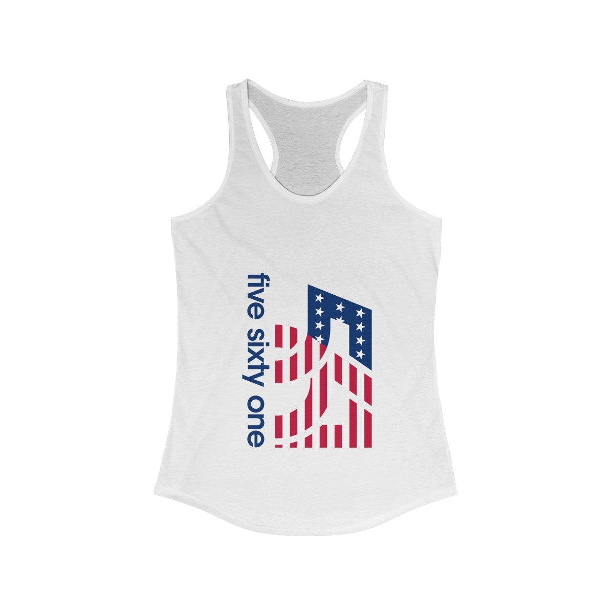 five-sixty-one-america-logo-womens-ideal-racerback-tank