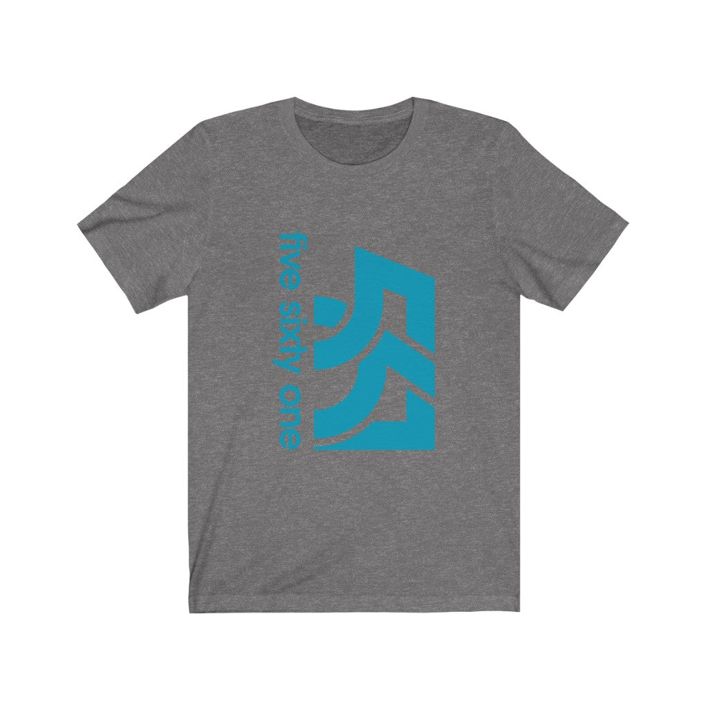 Five Sixty One Aqua Logo Unisex Jersey Short Sleeve Tee