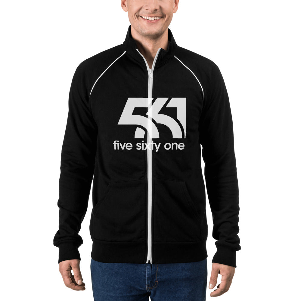 Five Sixty One Piped Fleece Jacket - Five Sixty One