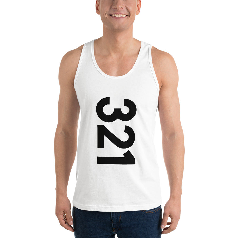 321 Area Code Unisex Tank Top - Five Sixty One