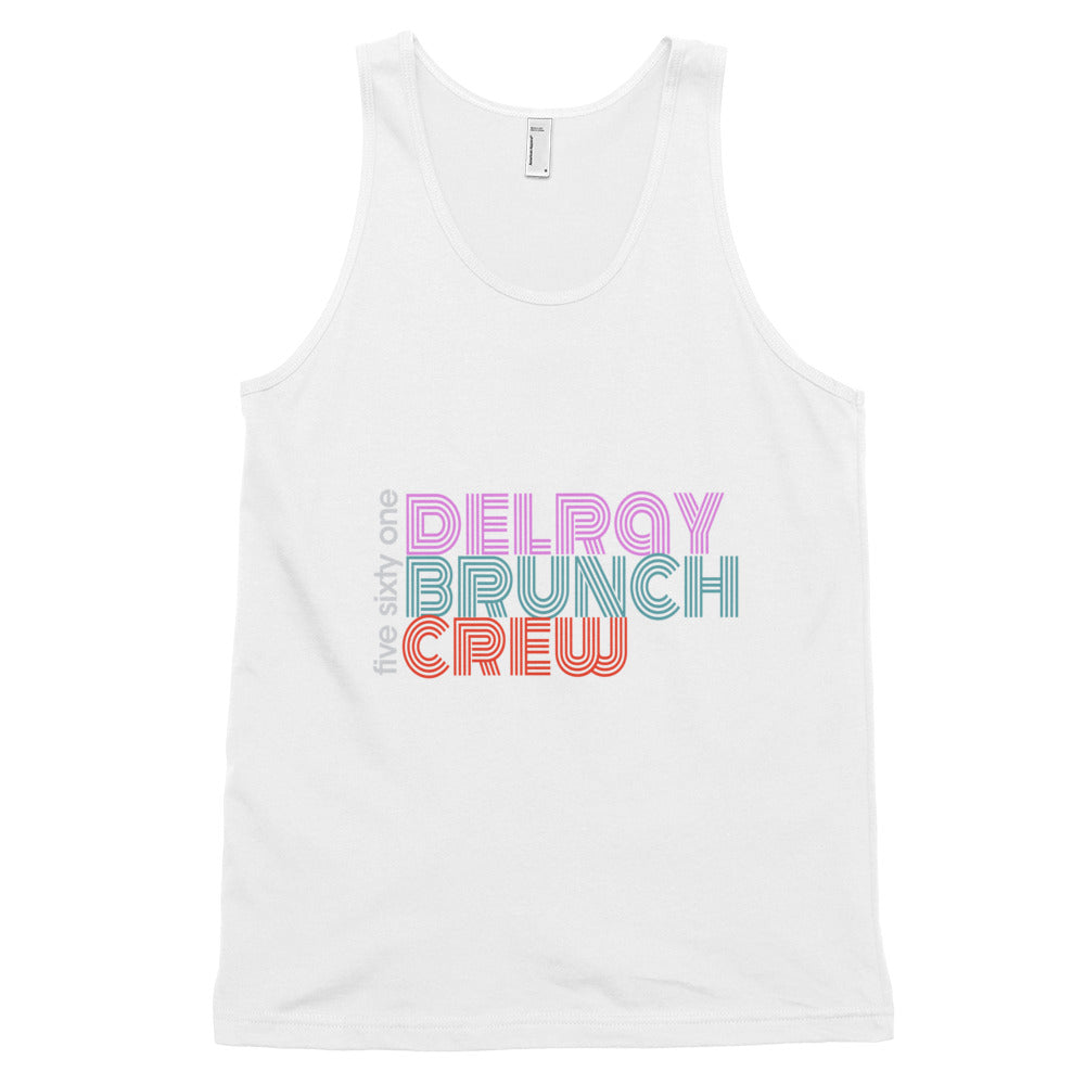 Delray Beach Brunch Crew Tank Top - Unisex