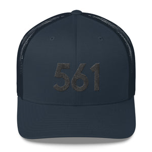 561 Area Code Trucker Cap - Five Sixty One