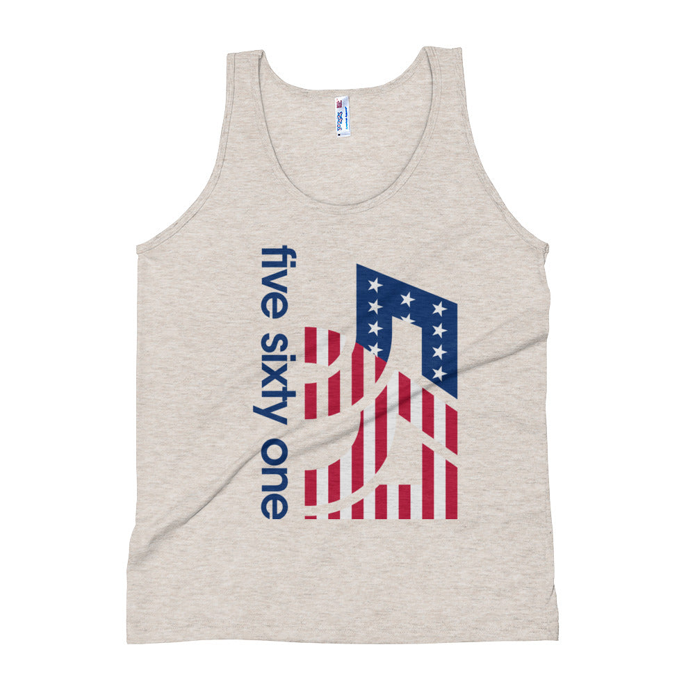 The Five Sixty One America Unisex Tank Top - Five Sixty One