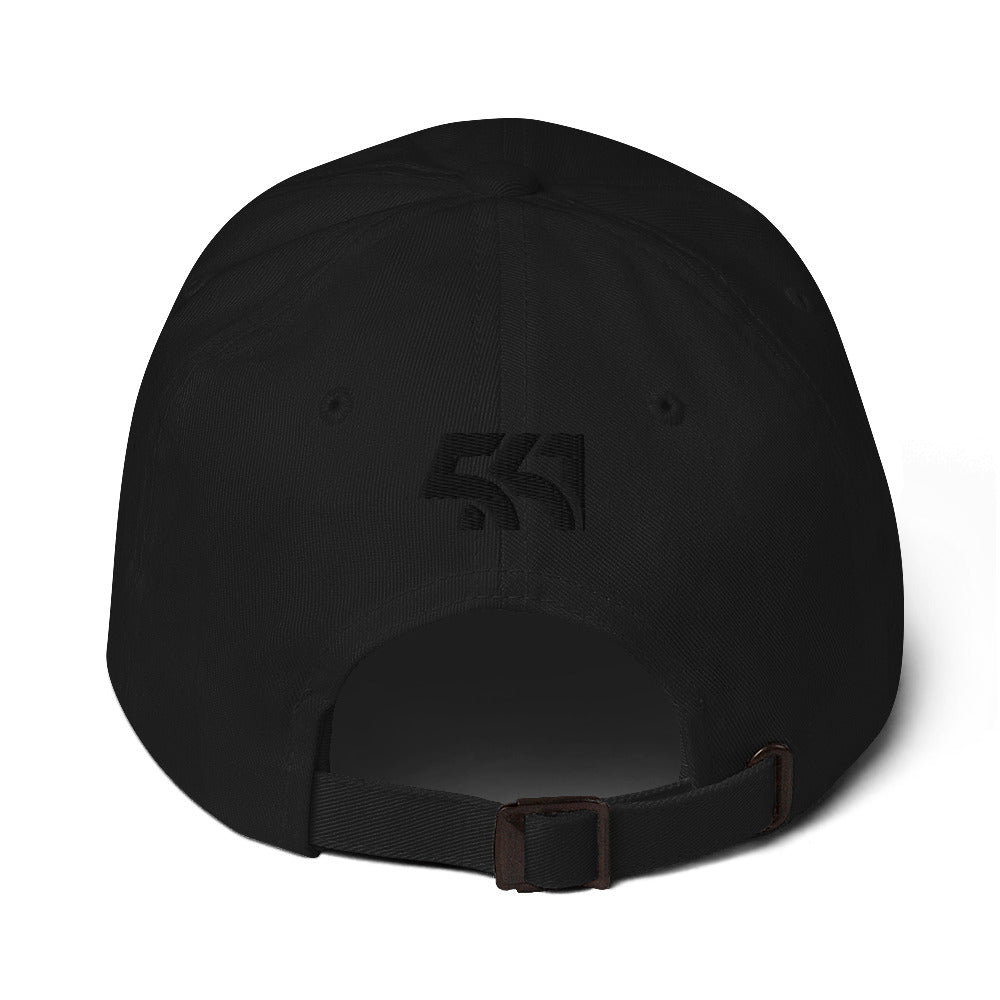 Five Sixty One Dad Hat - Black Detail