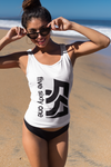 Five Sixty One Ladies Racerback Tank Top - White