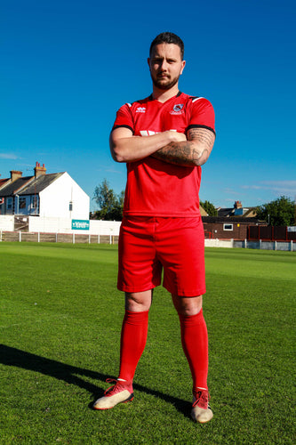 Red Home Ramsgate FC Club Kit Shirt