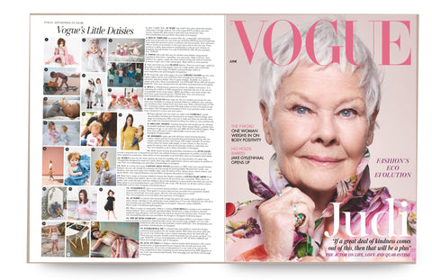 Everleigh & Me British Vogue June 2020 https://www.vogue.co.uk/tags/june-2020-issue