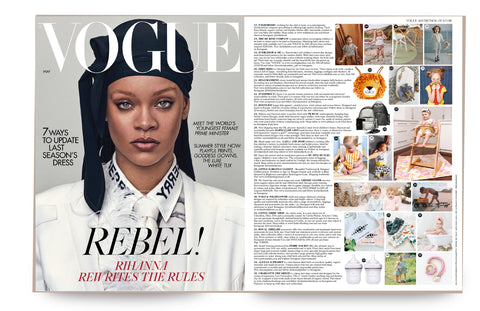 Everleigh & Me British Vogue May 2020 https://www.vogue.co.uk/news/article/download-free-british-vogue