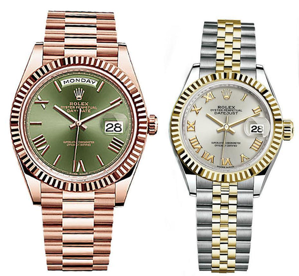 Rolex Day Date Couple Collection 8899