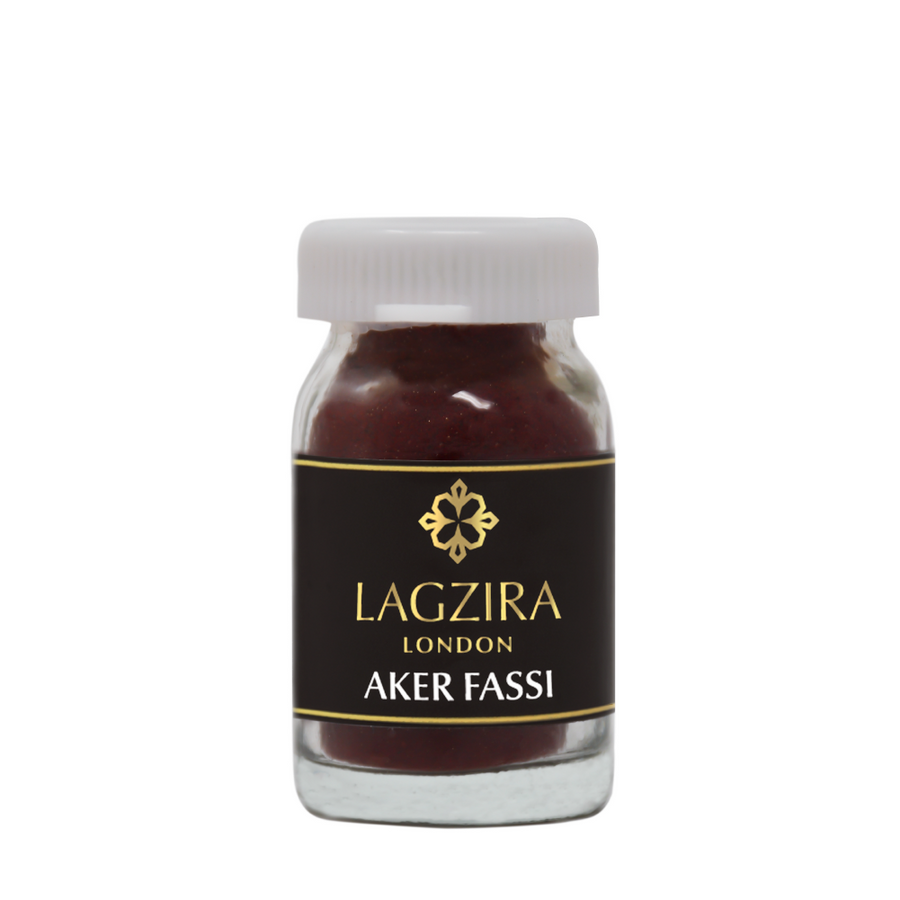 Organic Moroccan Aker Fassi Poppy Powder Traditional Berber Lipstick 10g - Lagzira London