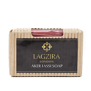 Organic Artisanal Aker Fassi Traditional Berber Lipstick Natural Soap 75g - Lagzira London