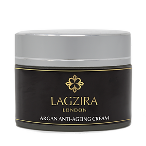 Organic Anti Ageing Cream With Moroccan Argan Oil 50ml - Lagzira London