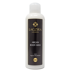 Organic Body Milk With Argan Oil 200ml - Lagzira London