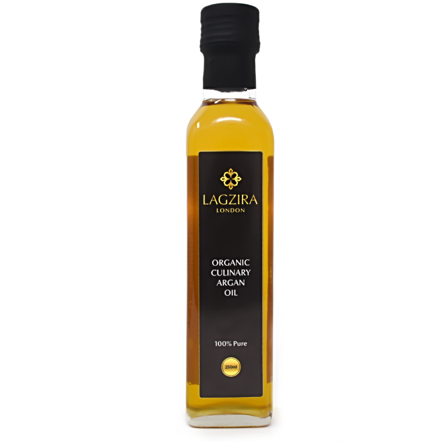 Organic Moroccan Culinary Argan Oil 250ml - Lagzira London