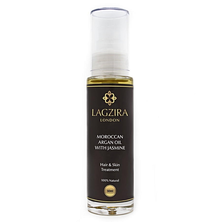 Pure Liquid Gold Organic Moroccan Argan Oil With Jasmine 50ml - Lagzira London