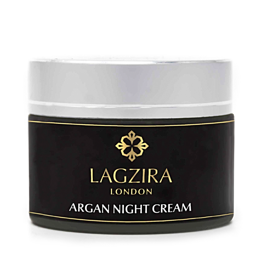 Organic Moroccan Argan Oil Night Cream 50ml - Lagzira London