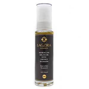 Pure Liquid Gold Organic Moroccan Argan Oil With Orange Blossom 50ml - Lagzira London