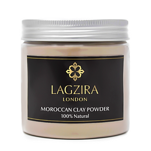 Organic Moroccan Clay Powder (Ghassoul) 200g - Lagzira London