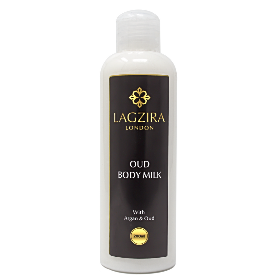 Organic Body Milk With Argan Oil and Oud 200ml - Lagzira London