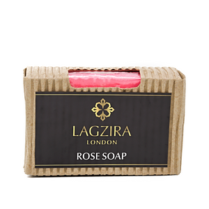 Artisanal Rose Natural Soap 75g - Lagzira London
