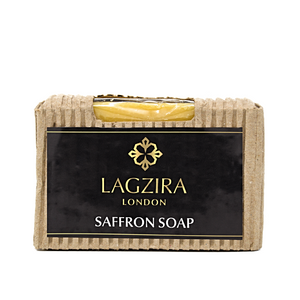 Artisanal Saffron Natural Soap 75g - Lagzira London