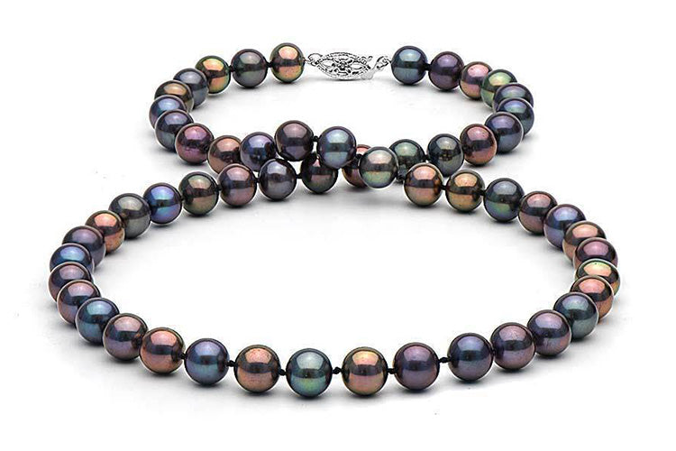 Featured Pearls of Joy Product Spotlight: Black Freshwater Pearl Necklace