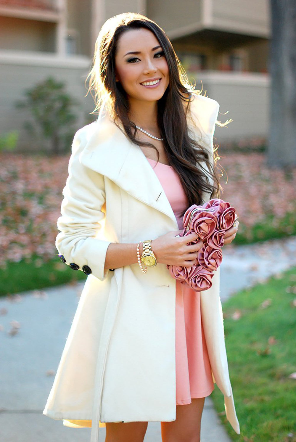 Pretty in Pink: Date Night Pearls
