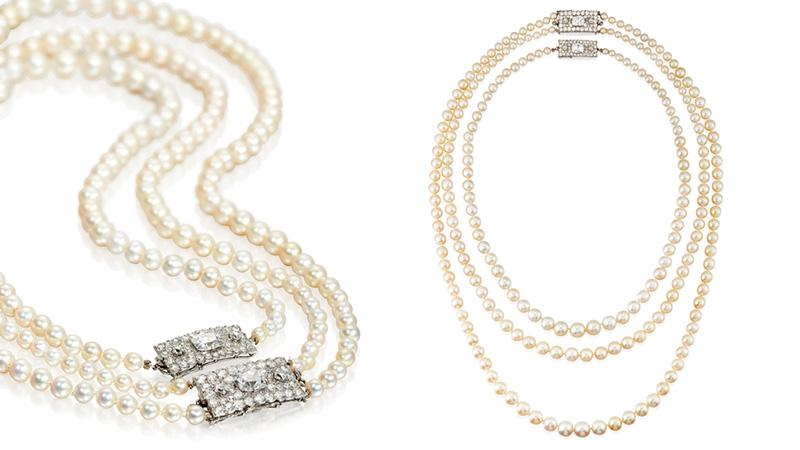 Eye Candy Pearl Spotlight: THE DODGE PEARL NECKLACE VIA CARTIER