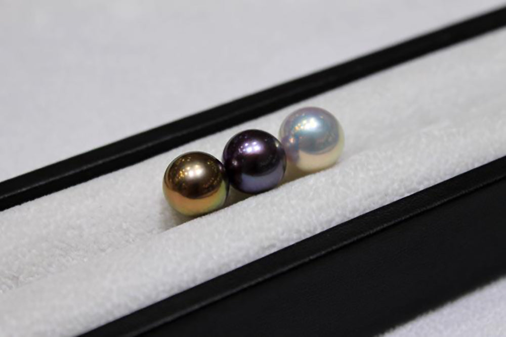 """Freshwater Pearl Shapes: True Round """"Edison"""" Pearls"""