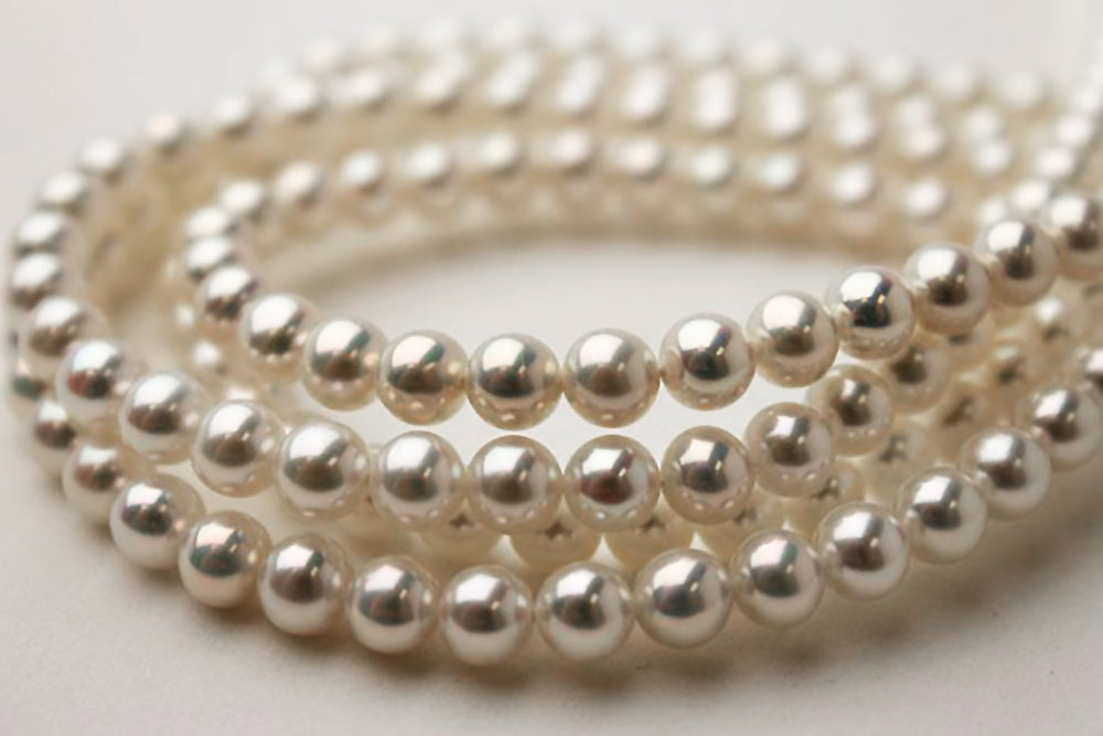 Freshwater Pearl Shapes: Near-Round