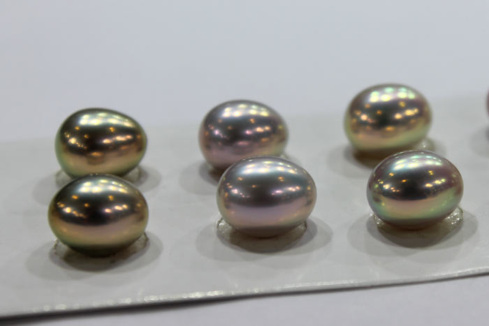 metallic freshwater Pearls